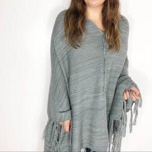 LuLaRoe Mimi knit sweater poncho